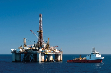 Offshore platform and ship
