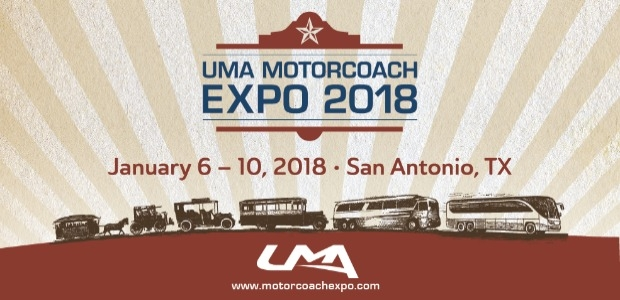 United Motorcoach Association (UMA) Motorcoach Expo promo graphic