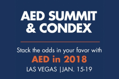 aed summit promo graphic