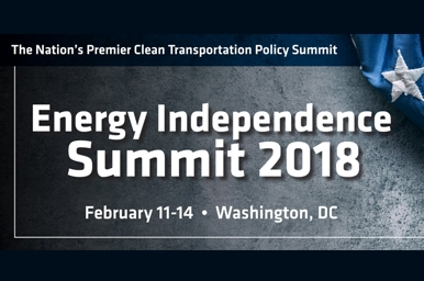 Energy Independence Summit promo graphic