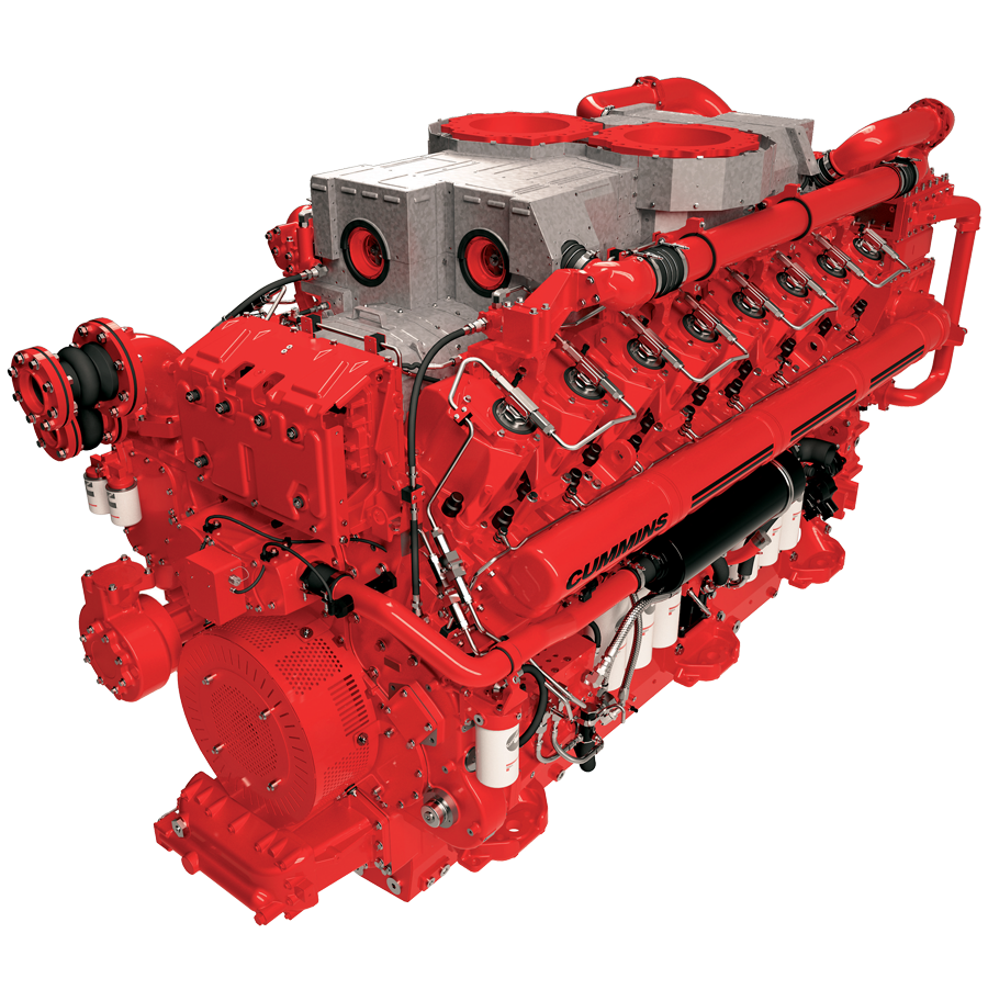 Cummins QSK95 engine for marine propulsion
