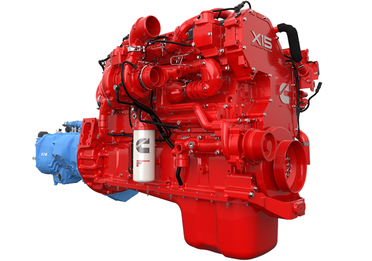 cummins engine with smart advantage automated manual powertain