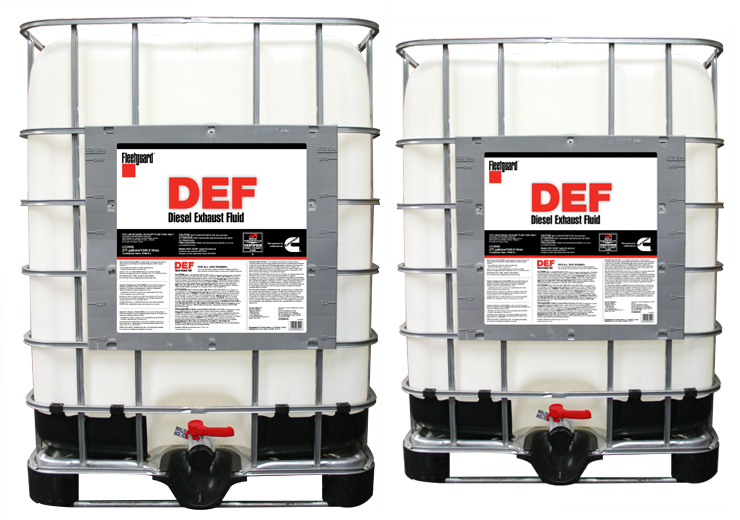 DEF containers