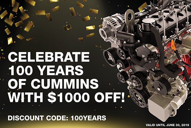 cummins repower engine discount offer