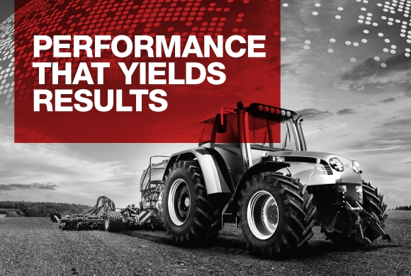 Performance that yields results tractor image