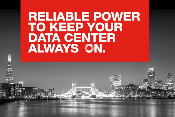 Reliable power to keep your data center always on.