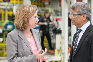 Jennifer Rumsey Talking with Srikanth Padmanabhan