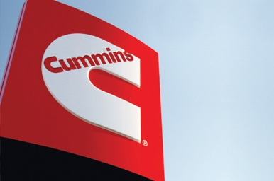 Cummins Logo SIgn