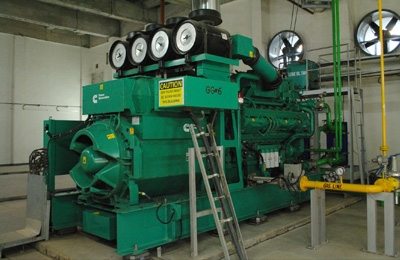 natural gas genset