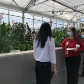 Employees at the Rocky Mount Engine Plant in North Carolina (U.S.) officially launch the plant's Water Hub in 2020. It uses a number of technologies including hydroponics to return millions of gallons of water to the plant for non-potable use.