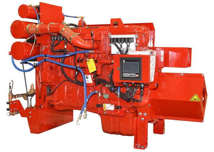 CFP15E fire pump drive engine