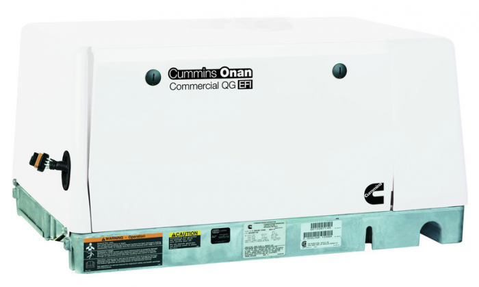 onan quiet gas generator