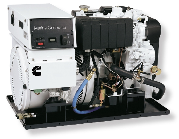 Onan Marine Qd 7 9 Kw Space Saver Generator Cummins Inc