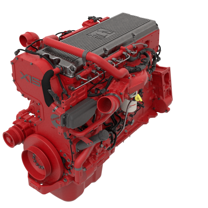 Cummins X15 Productivity Series Engine