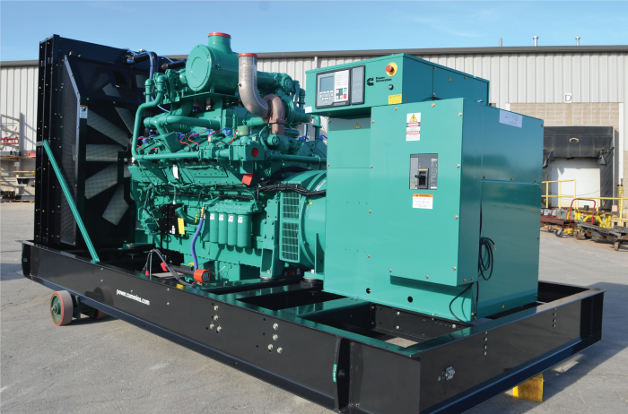 20-815kW Standby Gaseous Generator Set