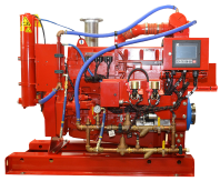 CFP11E fire pump drive engine