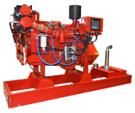 CFP7E fire pump drive engine
