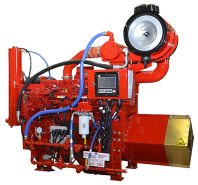 CFP9E fire pump drive engine