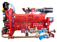 CFP50 fire pump drive engine