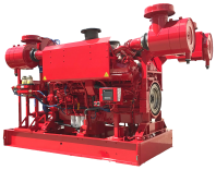 CFP60E fire pump drive engine