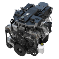 6.7L Cummins Turbo Diesel engine
