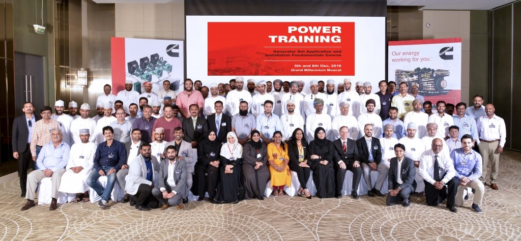 Power Train Returns to Oman with Continuous Professional