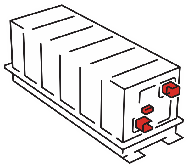 Illustration of Bus Part